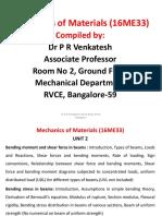 Mechanics of Materials Ntes