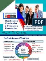 PPT OFICIAL 1 planificacion y evaluación ROQUE 2019 -CURSOS.pdf