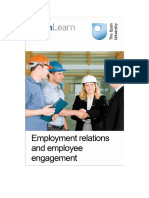 Employment Relations and Employee Engagement