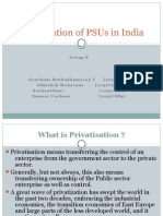 Privatisation in India