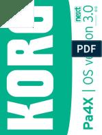 Pa4X Upgrade Manual v3.0.0 (English)