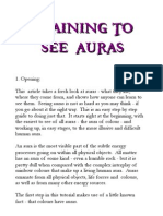 eBook Training to See Auras