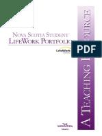 Lifework Portfolio Teaching Resource