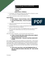 CRN Framework Manager Advanced Model Case Study 20-- Star Schemas Workshop
