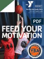 DBAFYMCA Fall 2019 Program Guide