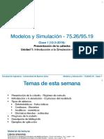 Clase 1 - simulación - 7526 - Fiuba