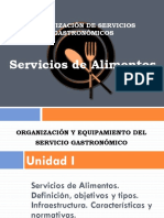 Servicios de Alimentos