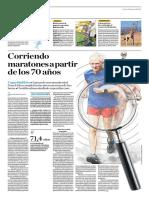 Corriendo Maratones a Partir de Los 70 Años