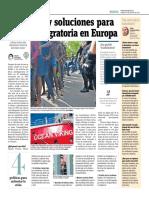 Aún No Hay Soluciones Para La Crisis Migratoria en Europa