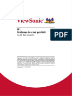 Viewsonic M1 manual español