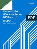 Preparing for Windows Server 2008 end of support