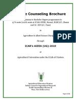 UG Counseling Brochure 2019