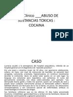 caso clínico cocaína