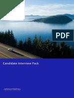 Candidate interview pack JMAT