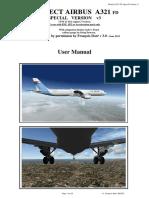 User Manual PA A321 FD Special Version V3