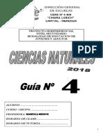 Cartilla 4 Cs Naturales 2018
