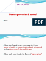 (14) Disease Prevention & Control