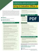 DIPU Monitoring Evaluation Office II