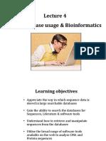 Lecture 4 Database Usage Bioinformatics (Student)-2