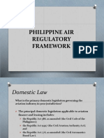 Philippine Air Regulatory Framework