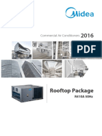 HVAC Midea Rooftop Package