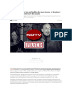 Why Pranoy Roy and Wife of  NDTV Disallowed from Leaving India.pdf