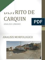 Diseño Vi Analisis Urbano de Carquin z