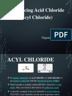 Acyl Chloride Presentation