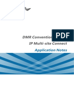 DMR Conventional Radio IP Multi Site Connect Application Notes R6.0