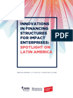 Transform Finance Innovations in Financing Structures for Impact Enterprises