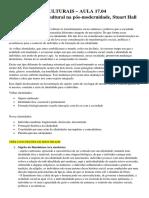 Identidades Culturais 17.04