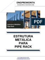 Estrutura Metálica Para Pipe Rack