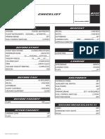 Boeing 777 Checklist