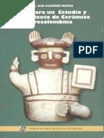 Guía para un estudio de cerámica precolombina
