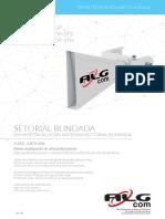 Datasheet Sector ALGcom