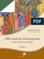 Indice da un libro sul canto gregoriano