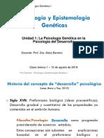 Teórico 1 y 2 psicología y epistemología genética cátedra Barreiro