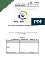 Swp-pt-hpub-Iss-01. Procedimiento de Trabajo de Instalaciones Sanitarias...