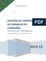 Gestion de Cadaveres de Animales de Compania