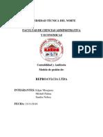 Modelo de Gestión Empresa Avicola