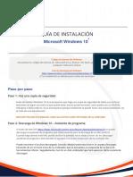 Windows 10 ES Manual
