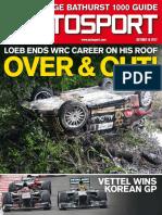 Autosport - October 10 2013 UK