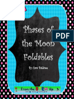 Phases of the Moon Foldable quiz