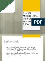 2SUMBER, METODE, DAN INSTRUMEN PENGUMPULAN DATA.pptx