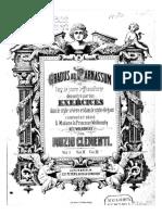 Clementi, Muzio - Gradus ad parnassum