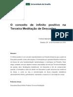 O conceito de infinito positivo na Terceira Meditação de Descartes.pdf