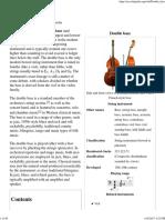 Double Bass - Wikipedia