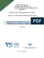 Strategija upravljanja vodama fbih-prijedlog-07-2009