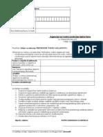Zahtjev za izdavanje Prethodne vodne suglasnosti - fizička lica