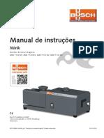 Busch Instruction Manual Mink MM 1104 1142 Pt 0870138060